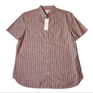 NWT Calvin Klein LG Men's Button Down Shirt Cotton